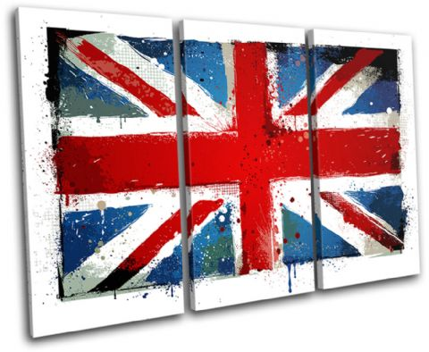 Union Jack Grunge Maps Flags - 13-0663(00B)-TR32-LO
